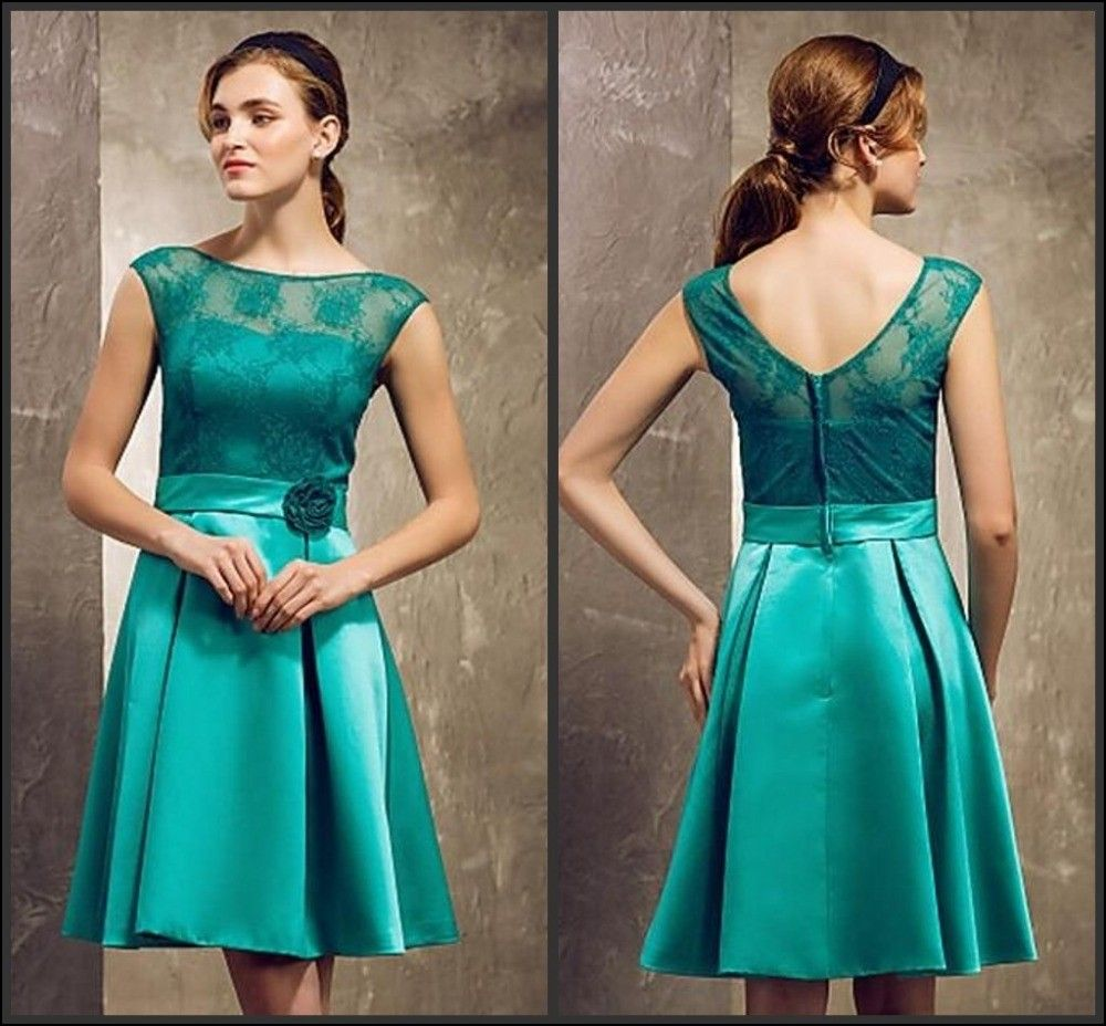 Dorable Jade Colored Bridesmaid Dresses Ensign - Colorful Wedding ...
