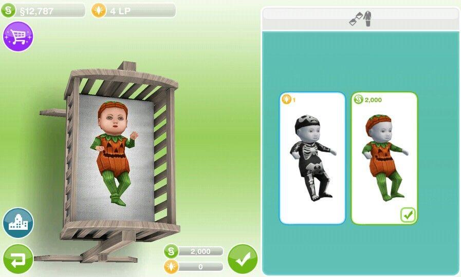 Sims FreePlay Baby Costume. Sims FreePlay Baby Costume   Kid s Room   Pinterest   Baby