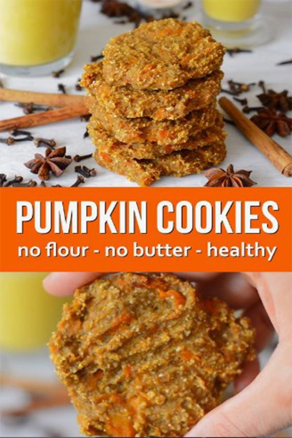 BANANA OAT PUMPKIN SPICED COOKIES RECIPE images