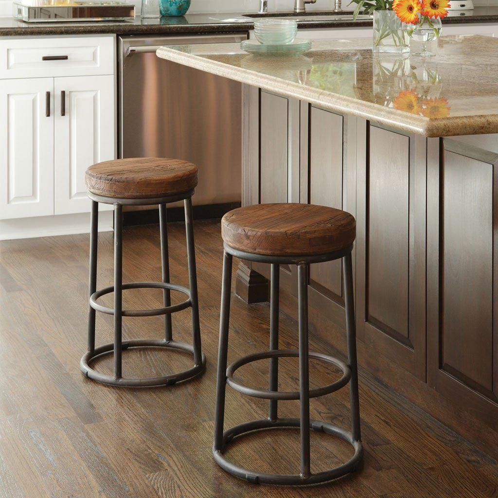 Jaden Stool Rustic Bar Stools Kitchen Bar Stools Kitchen Bar Decor