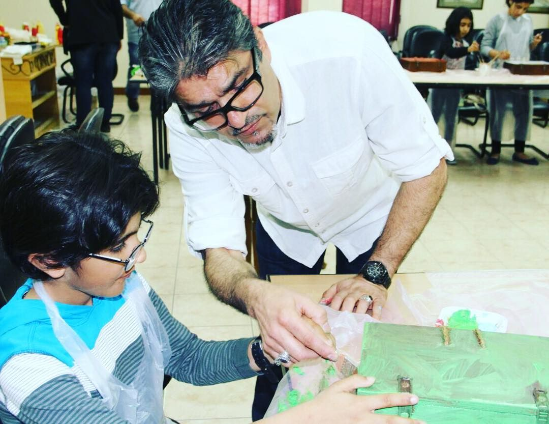 Sameera Ali Baba On Instagram الاستاذ القدير صلاح بوشهري معنى كلمة المعلم الحنون Ali Baba Instagram Posts Instagram