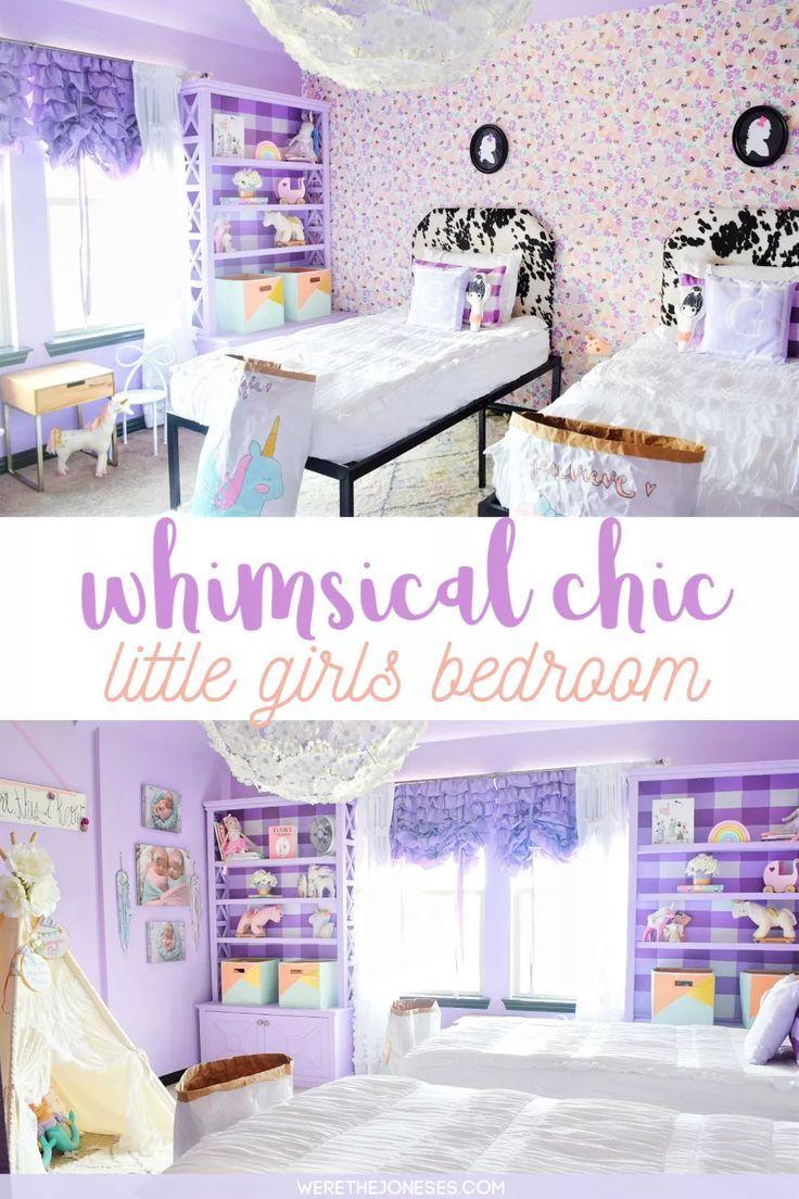Gi Room Design: Little Girls Bedroom For Genevieve & Georgia