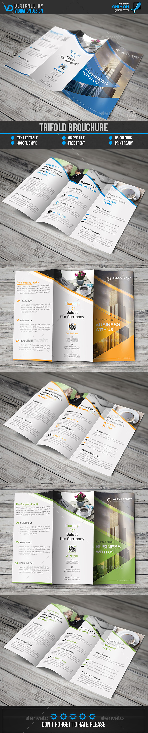 Creative Corporate Trifold Brochure Template PSD. Download here ...