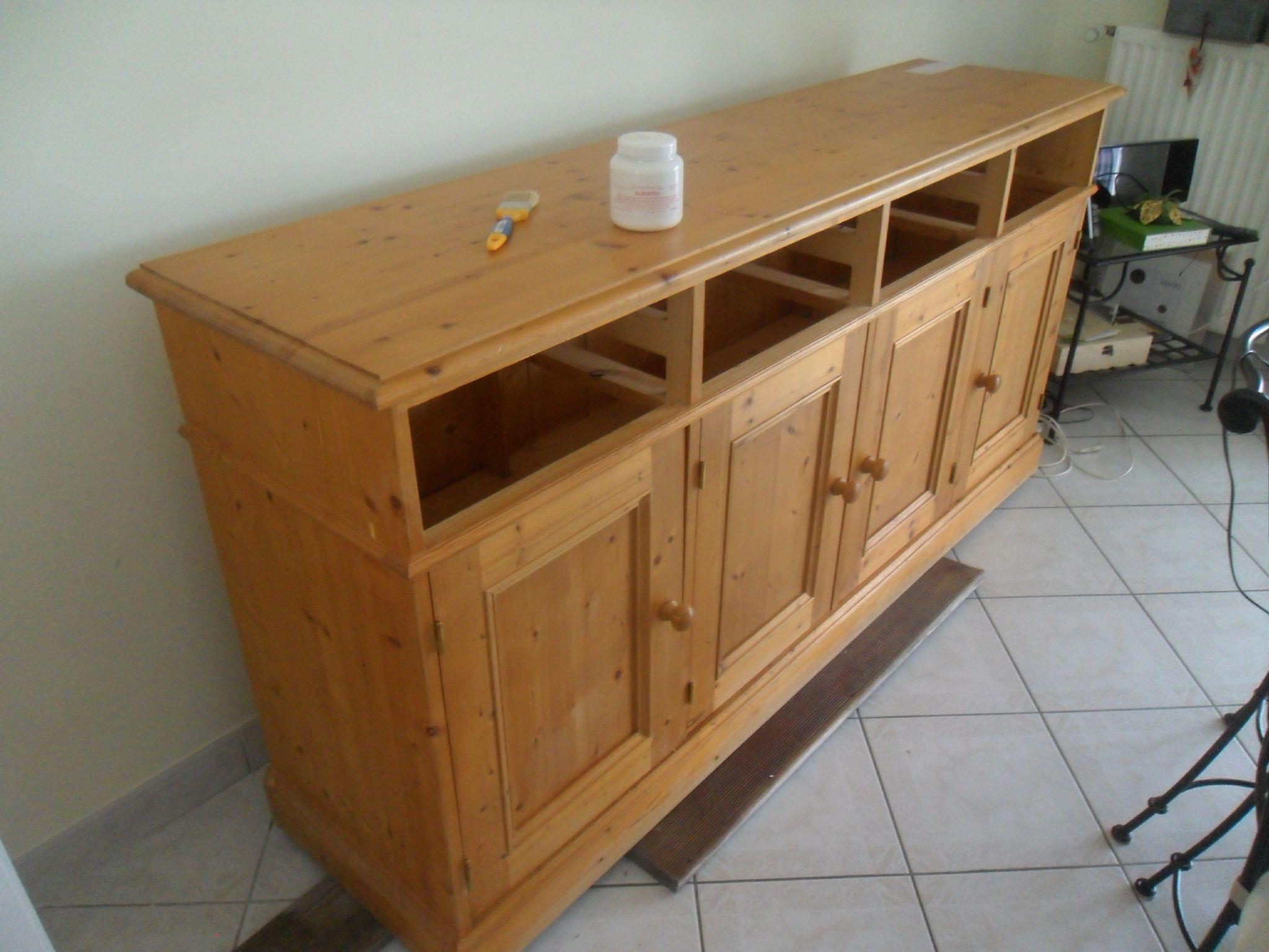 repeindre meubles en pin doors