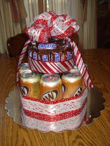 How To Make A Cake Out Of Candy Bars Bar Bouquet Birthday In Can