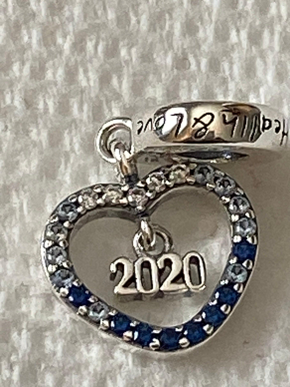 Pandora Charms 2020 New Year Dangle Charm Health & Love | Etsy ...