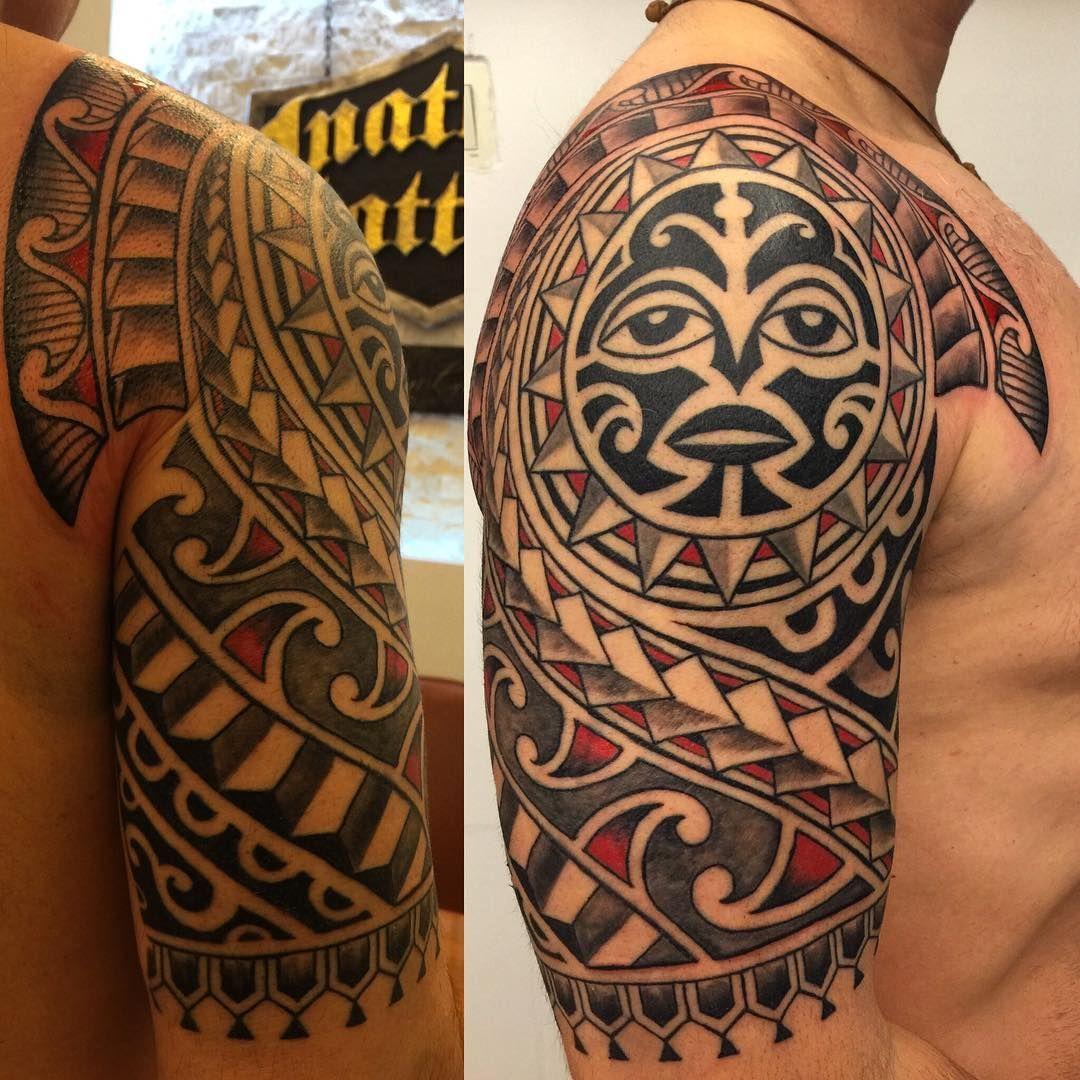 tatouage polynesien the rock
