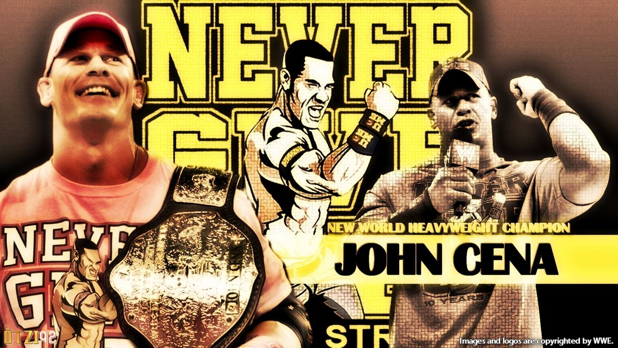 John Cena Wallpaper World Heavyweight Champion