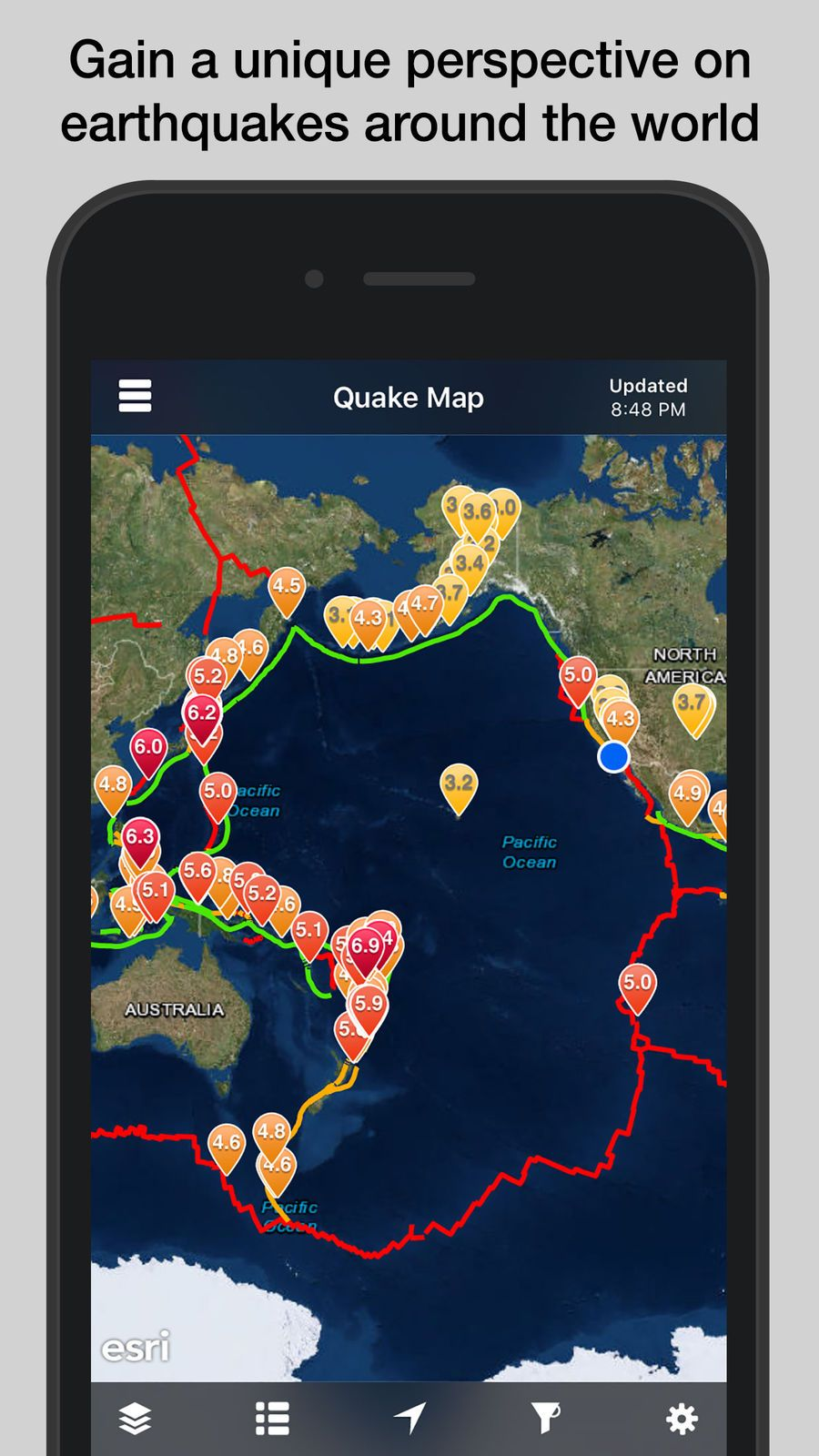 QuakeFeed Earthquake Alerts WeatherLLCiosNews
