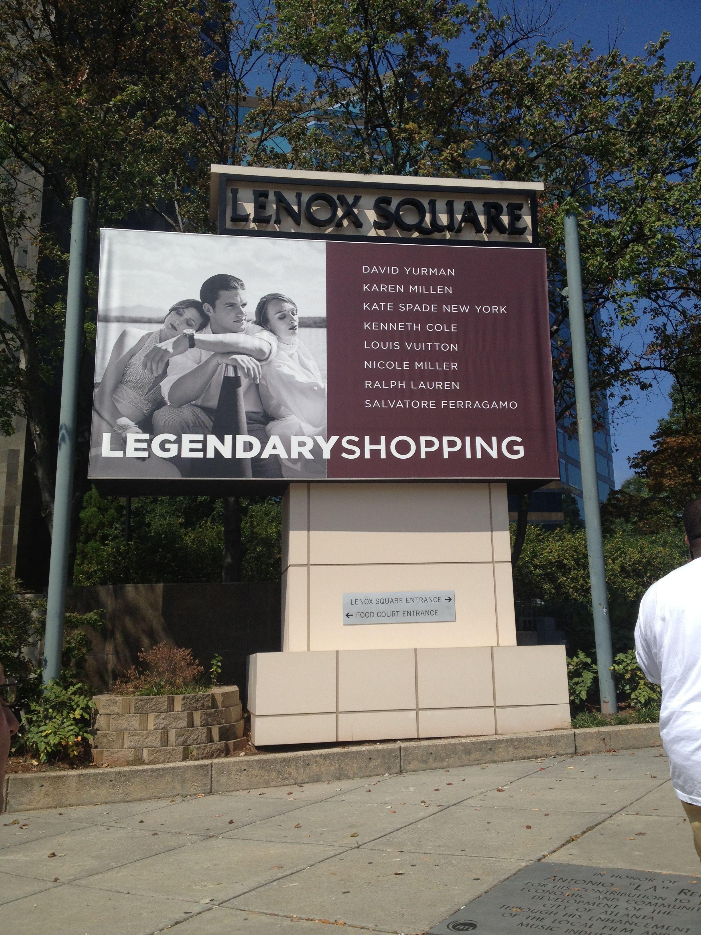 Lenox Mall, ATL...
