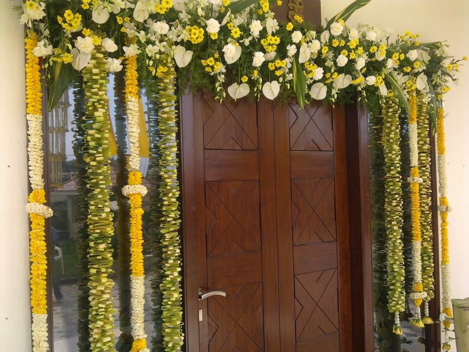 Indian Wedding Decor Indian Wedding Wedding Entrance Decor