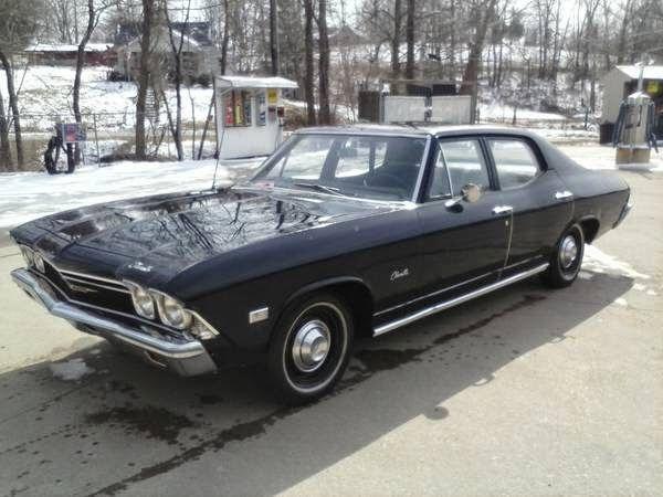1968 Chevrolet Chevelle Malibu 4 Door Sedan Chevrolet Chevelle