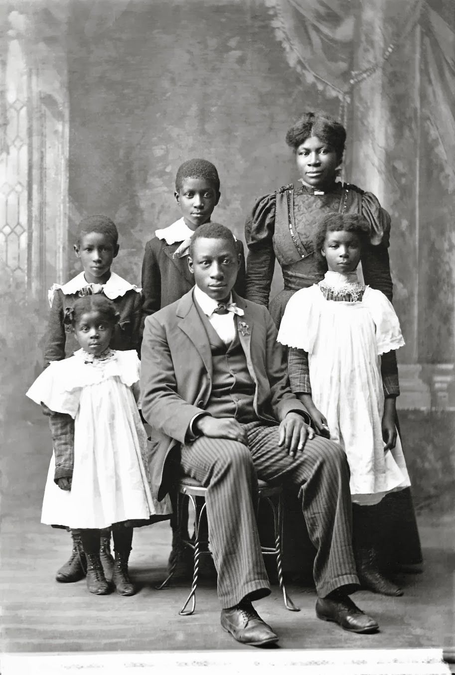 Photo of Black History Album …. The Way We Were — THE HIGDON FAMILY ] THE BLACK VICTORIANS | 1898 …