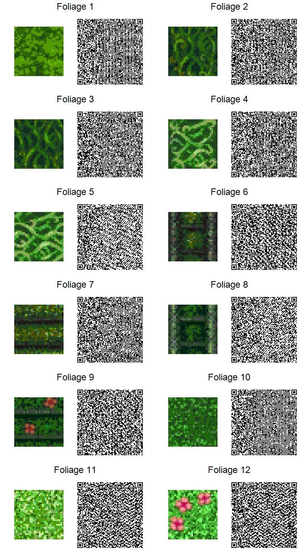 ACNL Foliage by frootzcat.deviantart.com on @DeviantArt
