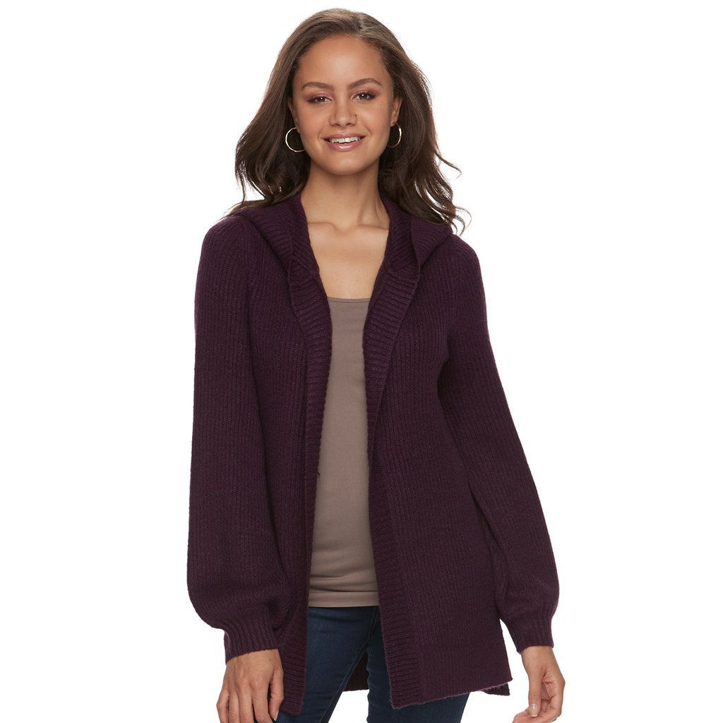 Mudd Juniors' Bishop Sleeve Hooded Cardigan | Hooded cardigan and ...