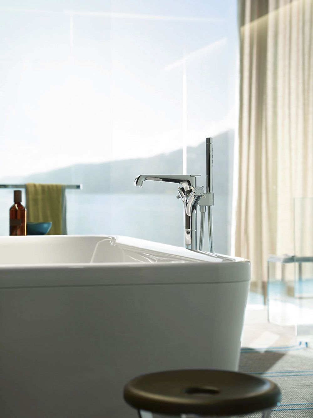 Axor Citterio E Freestanding Tub Filler | bathroom remodel ...