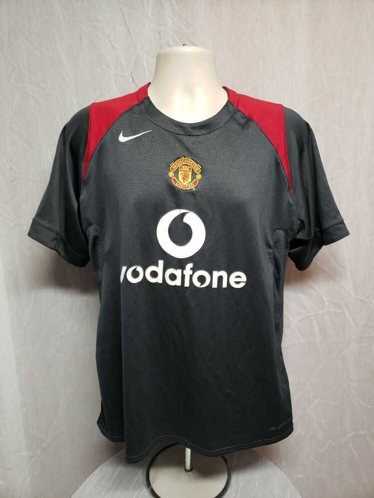67a932e28c3 Nike Vodafone Manchester United Football Club 90 Adult Medium Gray Jersey   Nike  ManchesterUnited