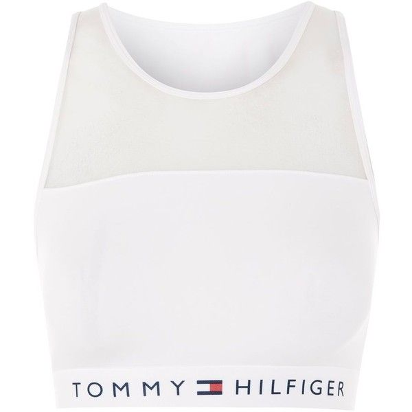 Mesh Bralet by Tommy Hilfiger (€32) ❤ liked on Polyvore