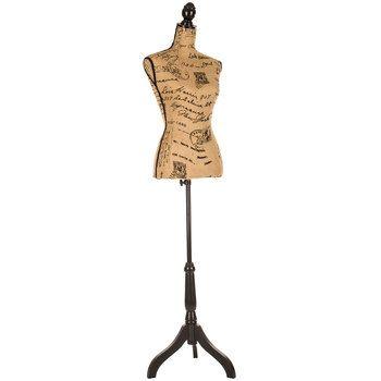 Sequin Dress Form On Stand Printing On Burlap Burlap Dress Form