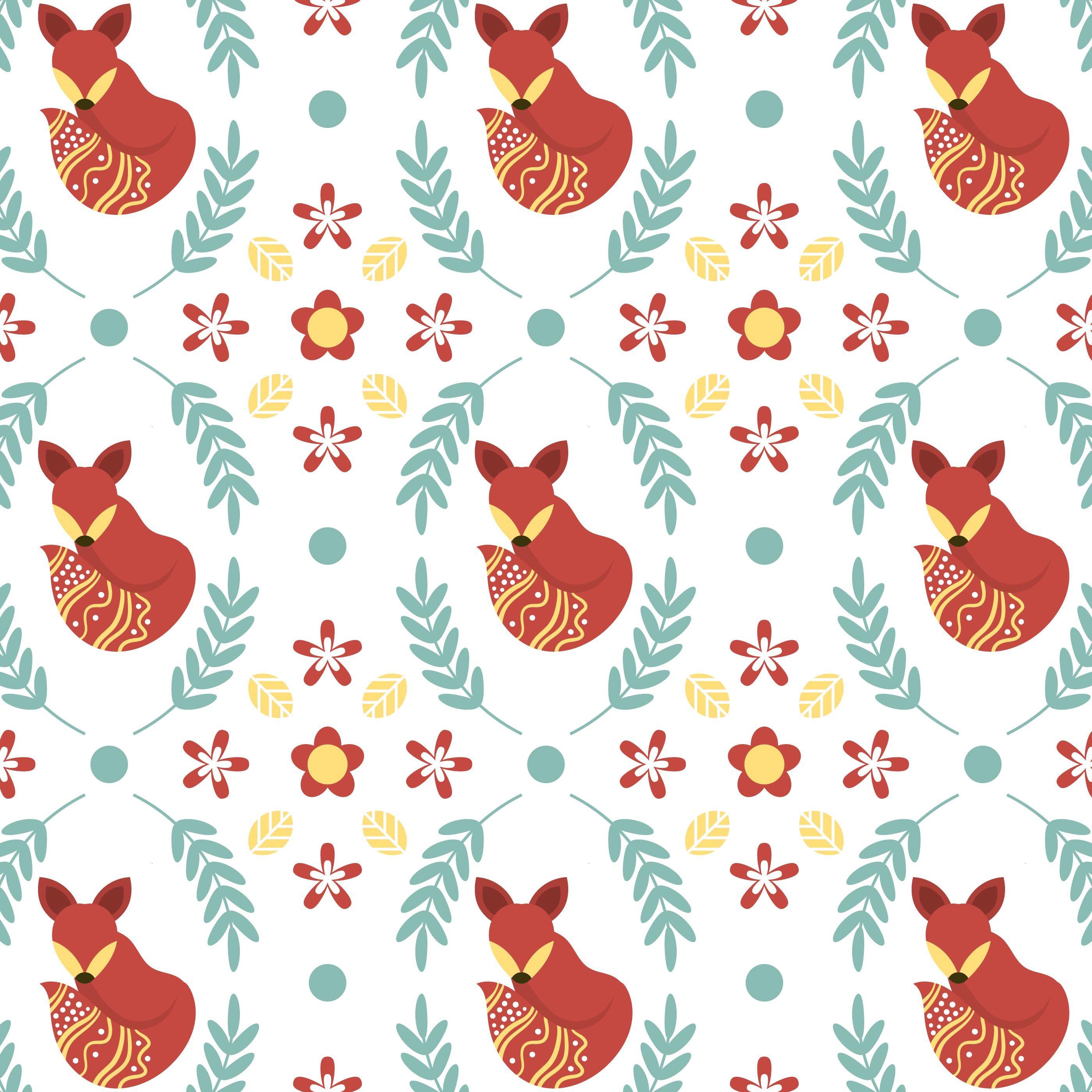 Flat Minimalist Scandinavian Folk Pattern Vector Template Folk Illustration Pixel Art Pattern Scandinavian Folk Art