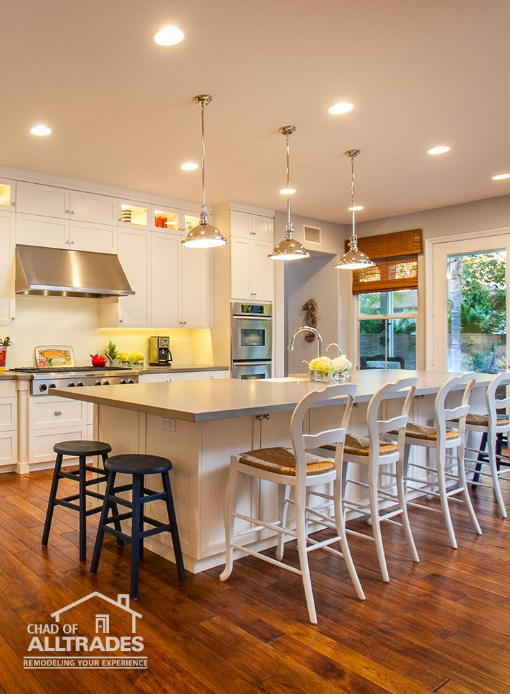 Transitional Country Style, White Cabinetry, Warm Floors and ...