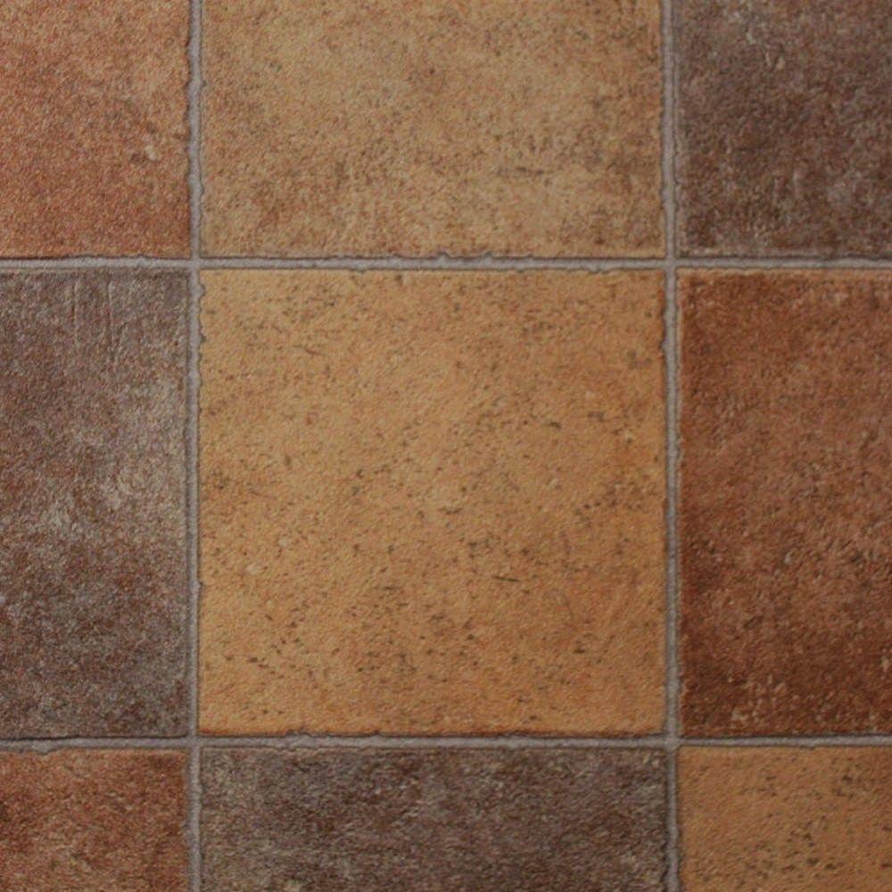 Corsica Terracotta Tiles Vinyl Flooring Home Ideas