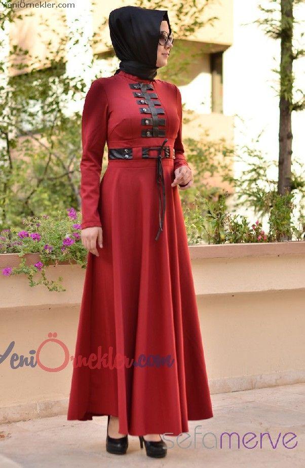 Sefa Merve Elbise Modelleri 2016 3 Hobi Dunyasi Ve El Isleri Yeniornekler Com Platya Zhenskaya Moda Moda
