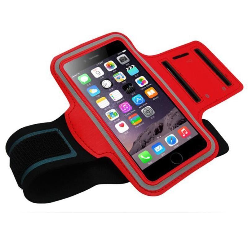 Phone armband with case