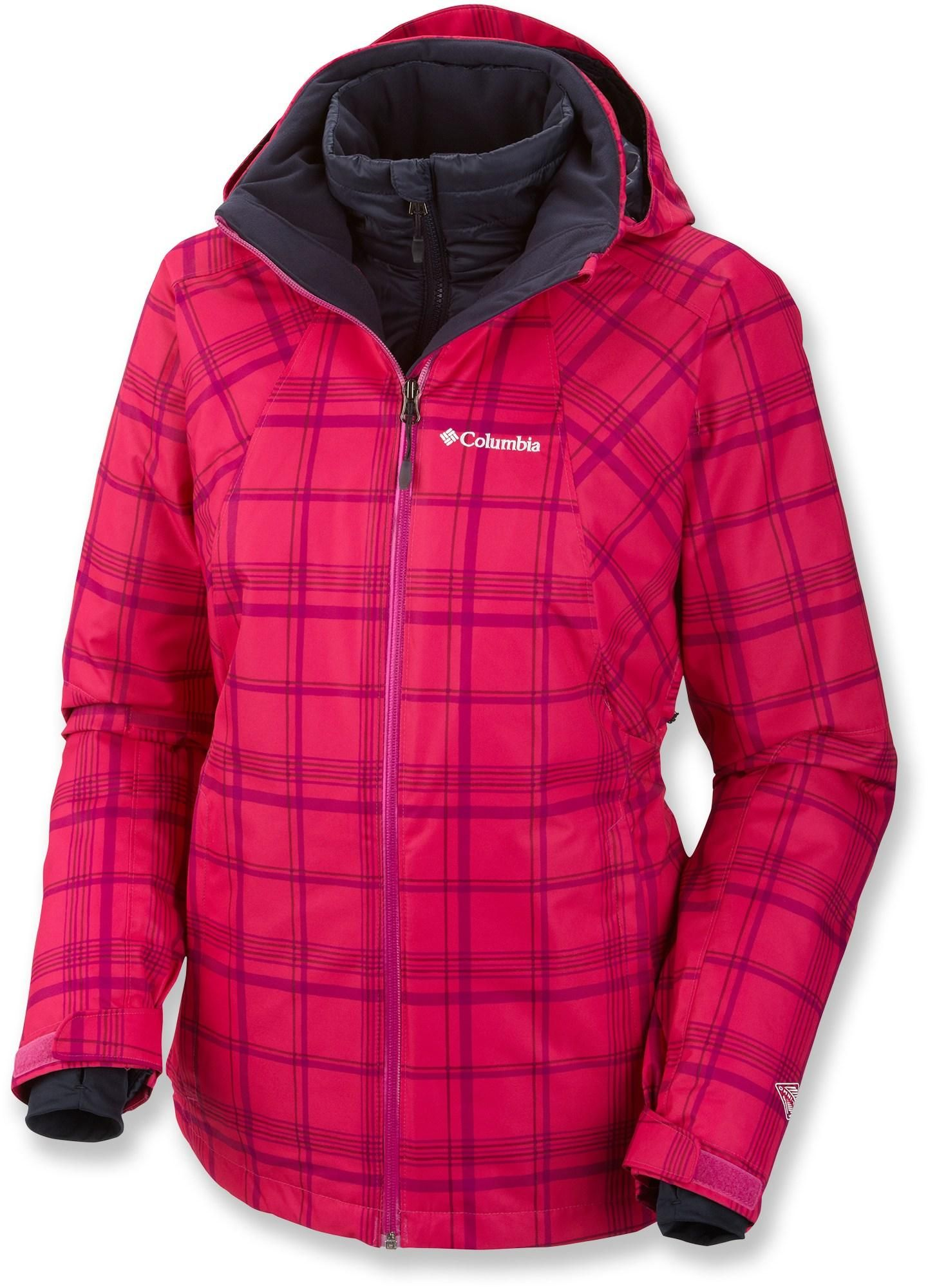 94766ec5fce Love the plaid! Columbia Whirlibird Interchange 3-in-1 Insulated Jacket -  Women s.