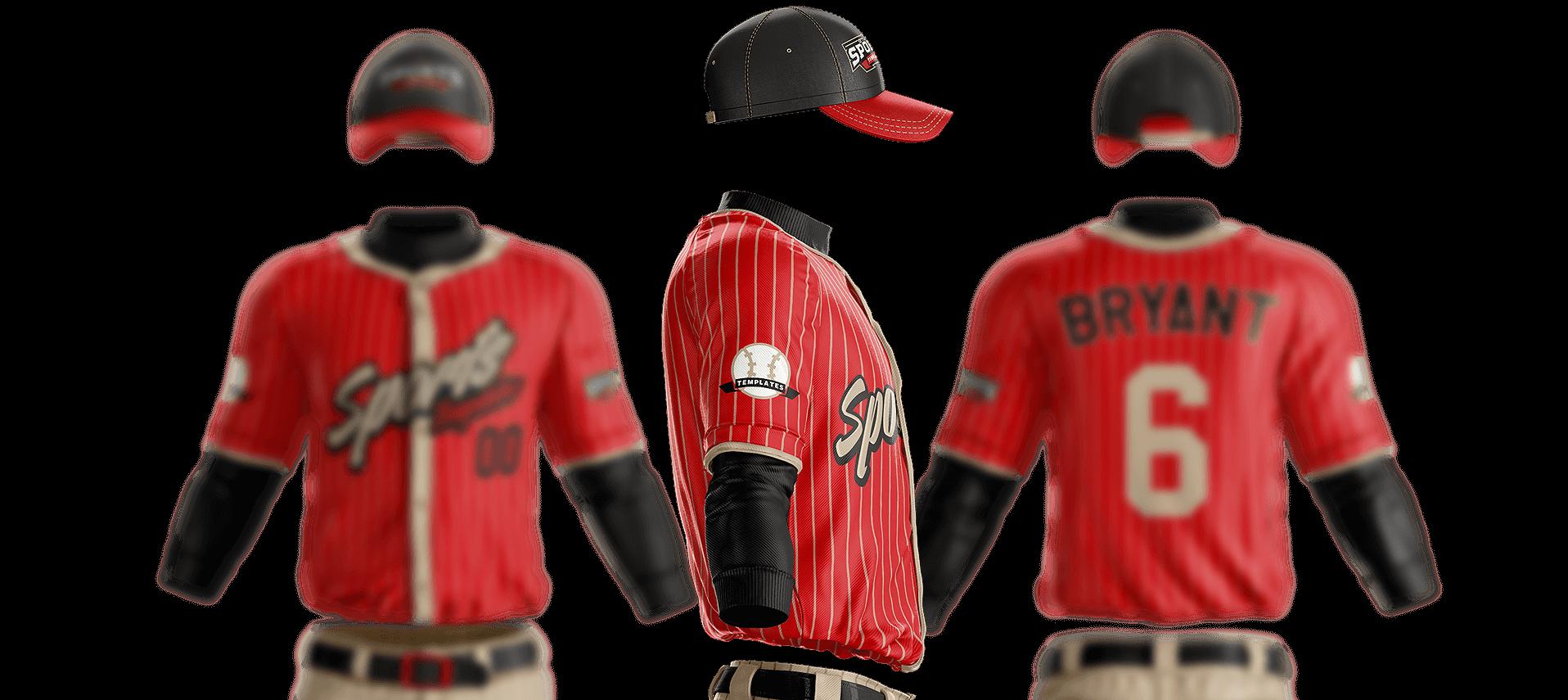 164e097061d Grand Slam Baseball Uniform Template