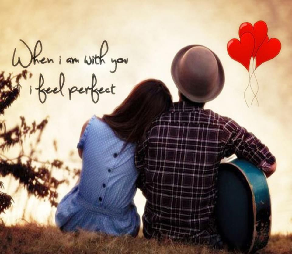 Cute Couple Wallpapers With Quotes Desktop Quotes Pinterest