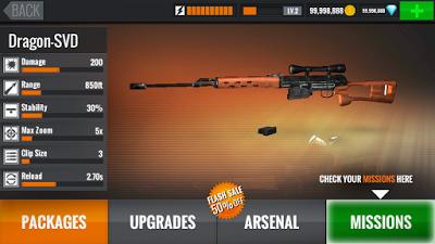 Sniper 3d Assassin Mod Apk V2 8 2 Unlimited Money And Diamonds For