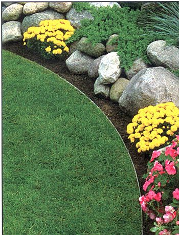 Cost to Edge a Garden Bed | Yard and Garden Project Ideas