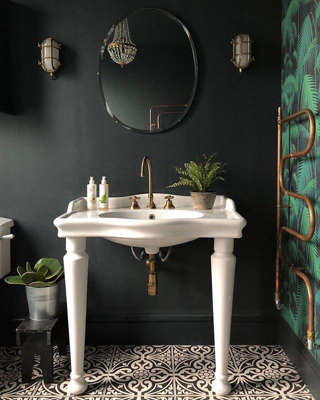 Kitchen Renovation Trends 2015 27 Ideas To Inspire: Devon Stone Black Feature Floor Tile 33x33cm