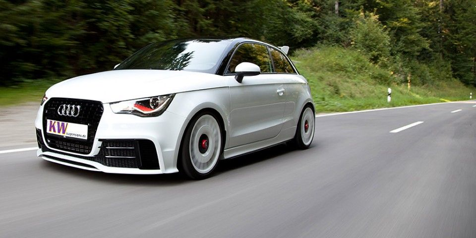 audi a1 quattro with suspension by kw modified custom audi audi a1 quattro audi audi a1. Black Bedroom Furniture Sets. Home Design Ideas