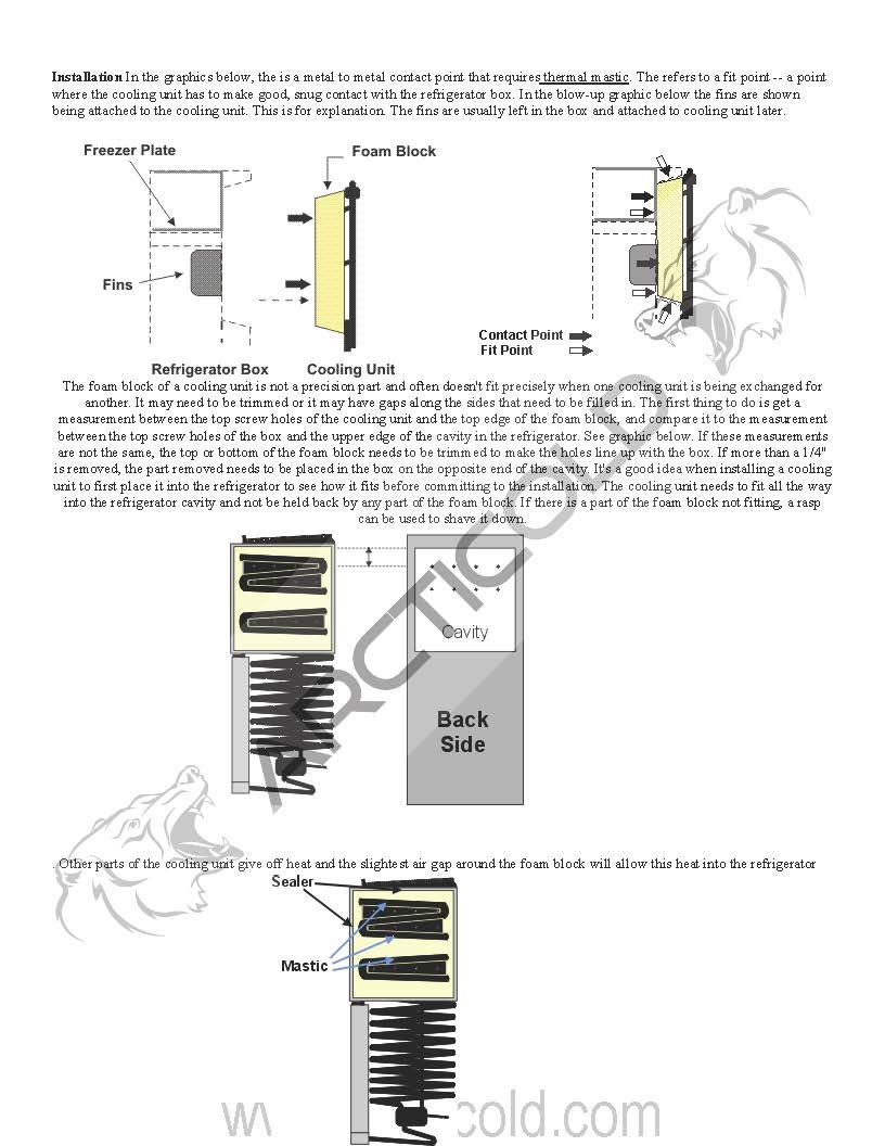 Pin En How To Change A Rv Fridge Cooling Unit Norcold