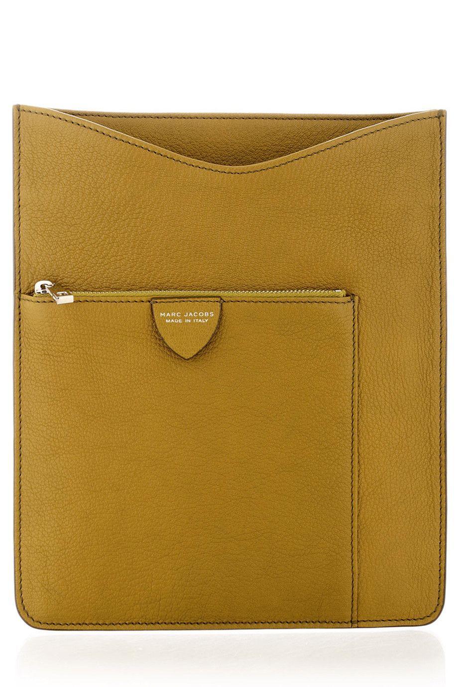FENDI MULTI POCKETS Green iPad® Case