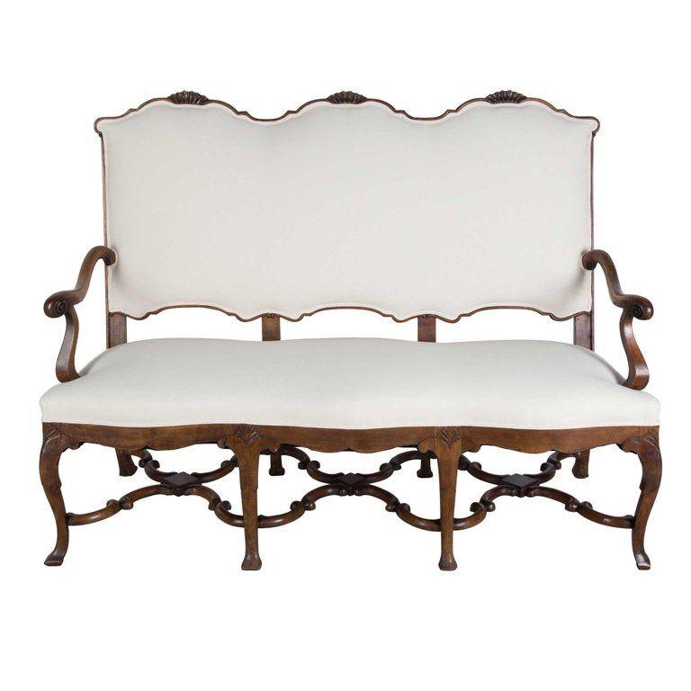 Best 1Stdibs Calico Walnut Era Solid Upholstered Edwardian 400 x 300