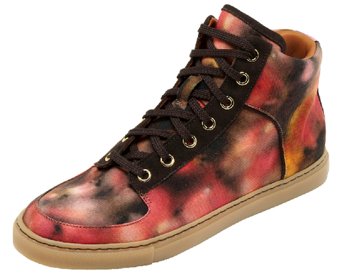 Mulberry make trainers now! Loving this 'Blurry Bloom' print <3