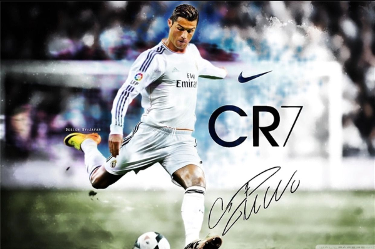 cristiano ronaldo poster football
