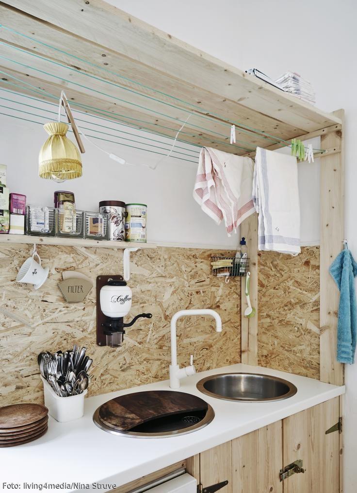 Vom Abfallprodukt zum Trend-Material Wohnen mit OSB-Platten Diy - wand laminat küche