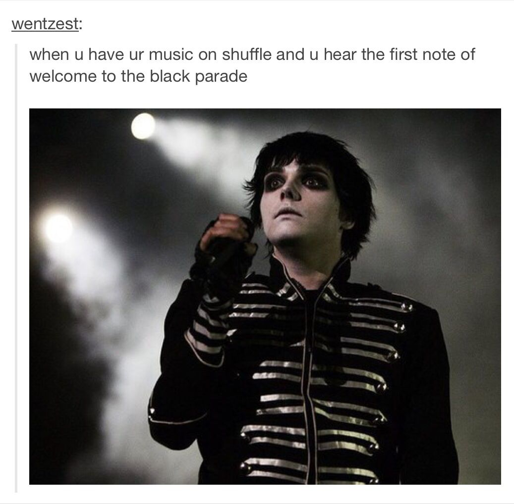 That Is Totally My Face When I Hear That My Chemical Romance