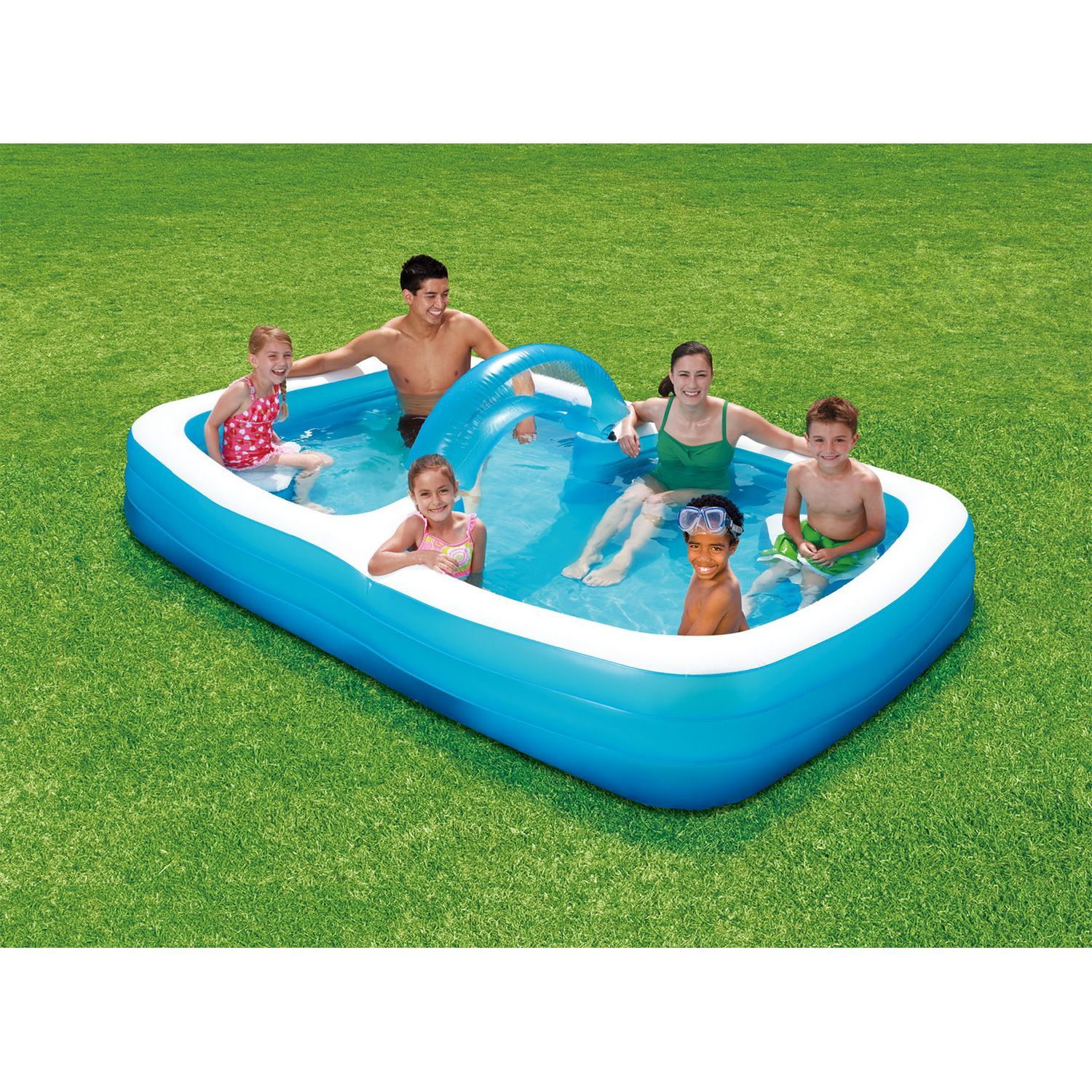 120 Summer Escapes Inflatable Family Pool Sam S Club Family Pool Pool Summer Escape