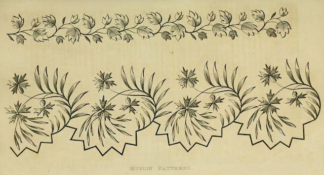37 Authentic Regency Era Needlework Patternsdating from 1816 - 1820