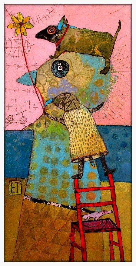 Elke Trittel Art | Elke Trittel | Pinterest | Marque page, Marque et ...