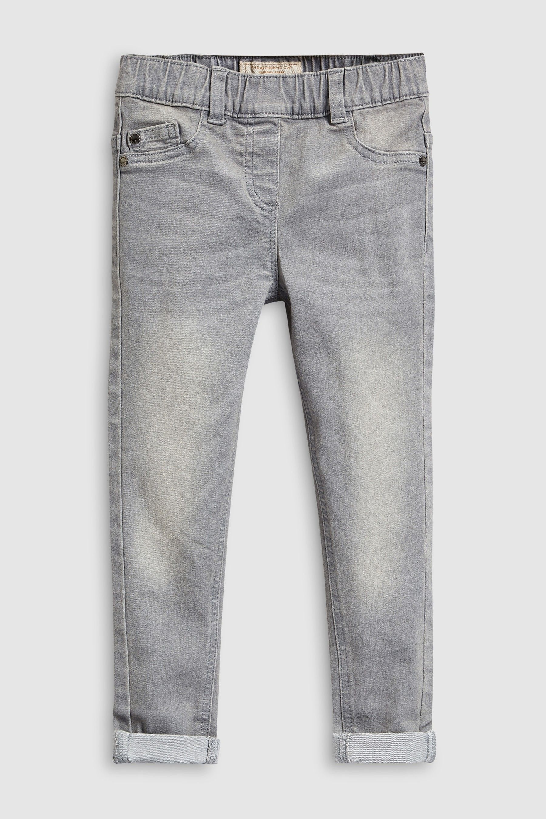 cheap for sale fashion promo codes Girls Next Grey Denim Jeggings (3-16yrs) - Grey   Products ...