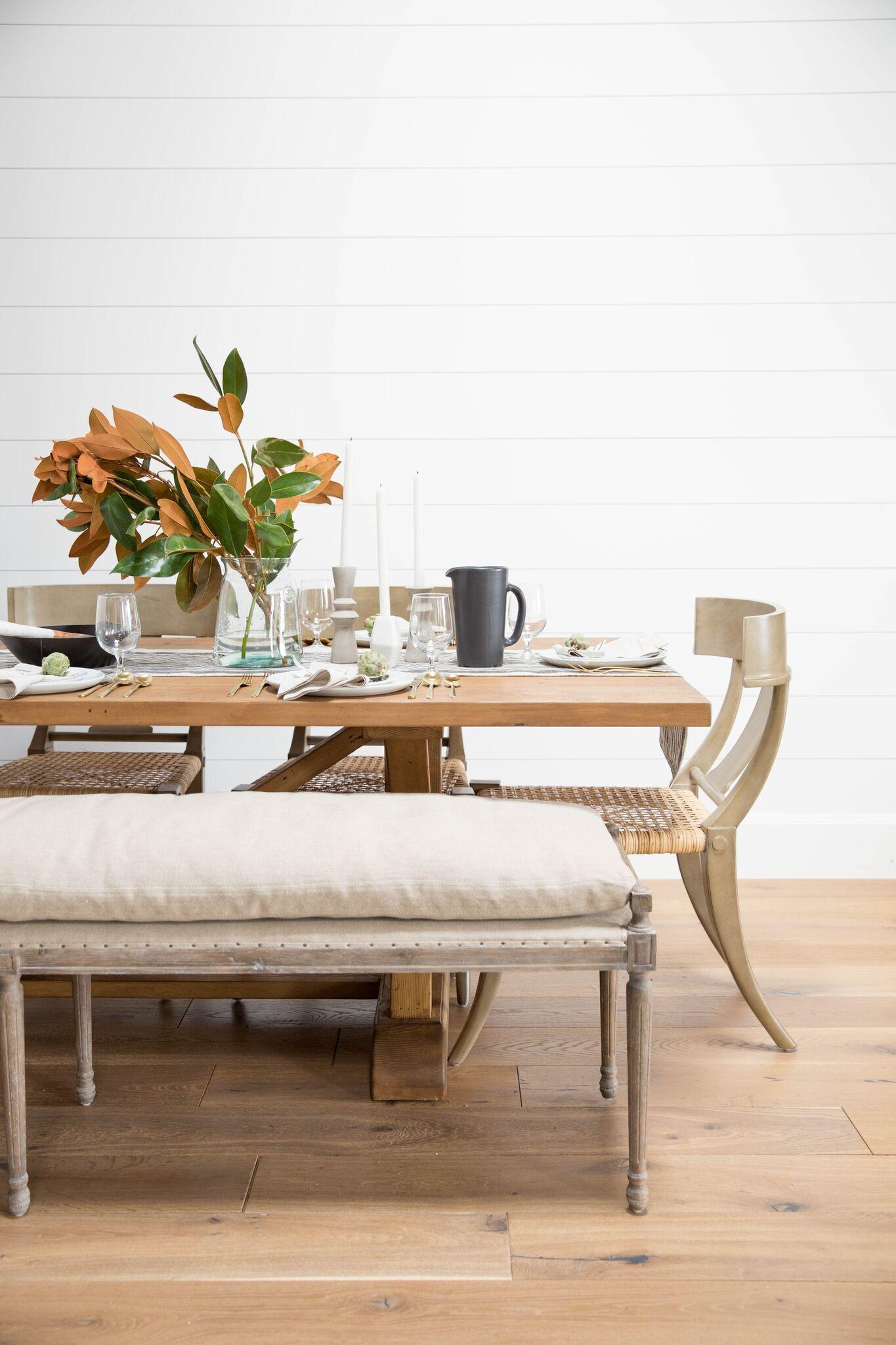 table runner setting for a dinner party studio mcgee blog dining rh pinterest com