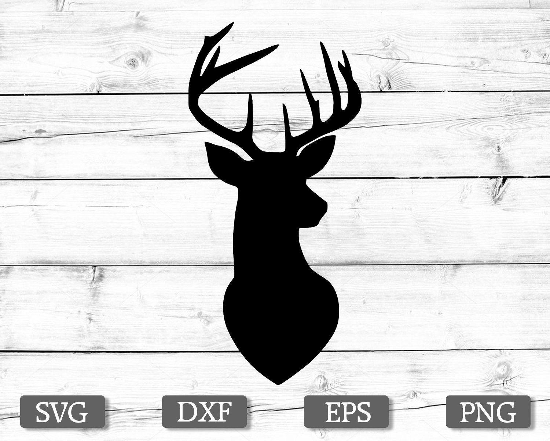 Deer SVG, Deer Head SVG, Deer Clipart, Deer Head Clipart