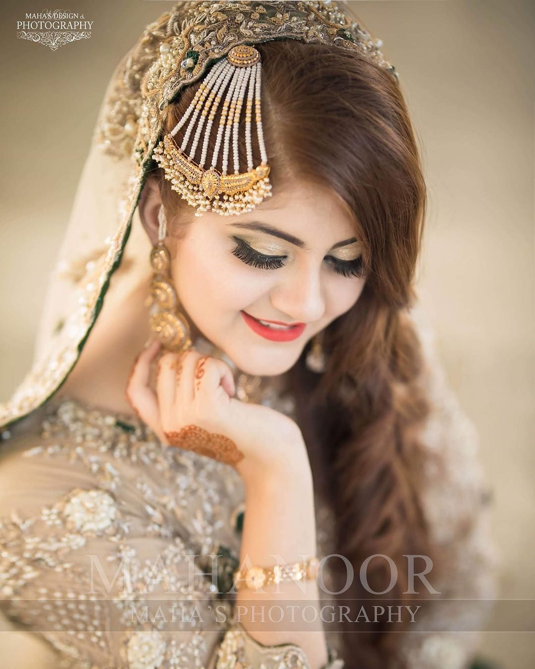 Wedding Hairstyles For Long Hair In Pakistan Flowy  pakistani brides giving major bridal haibridal