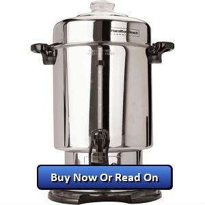 Hamilton Beach Commercial 60 Cup Stainless Steel Coffee Urn Review